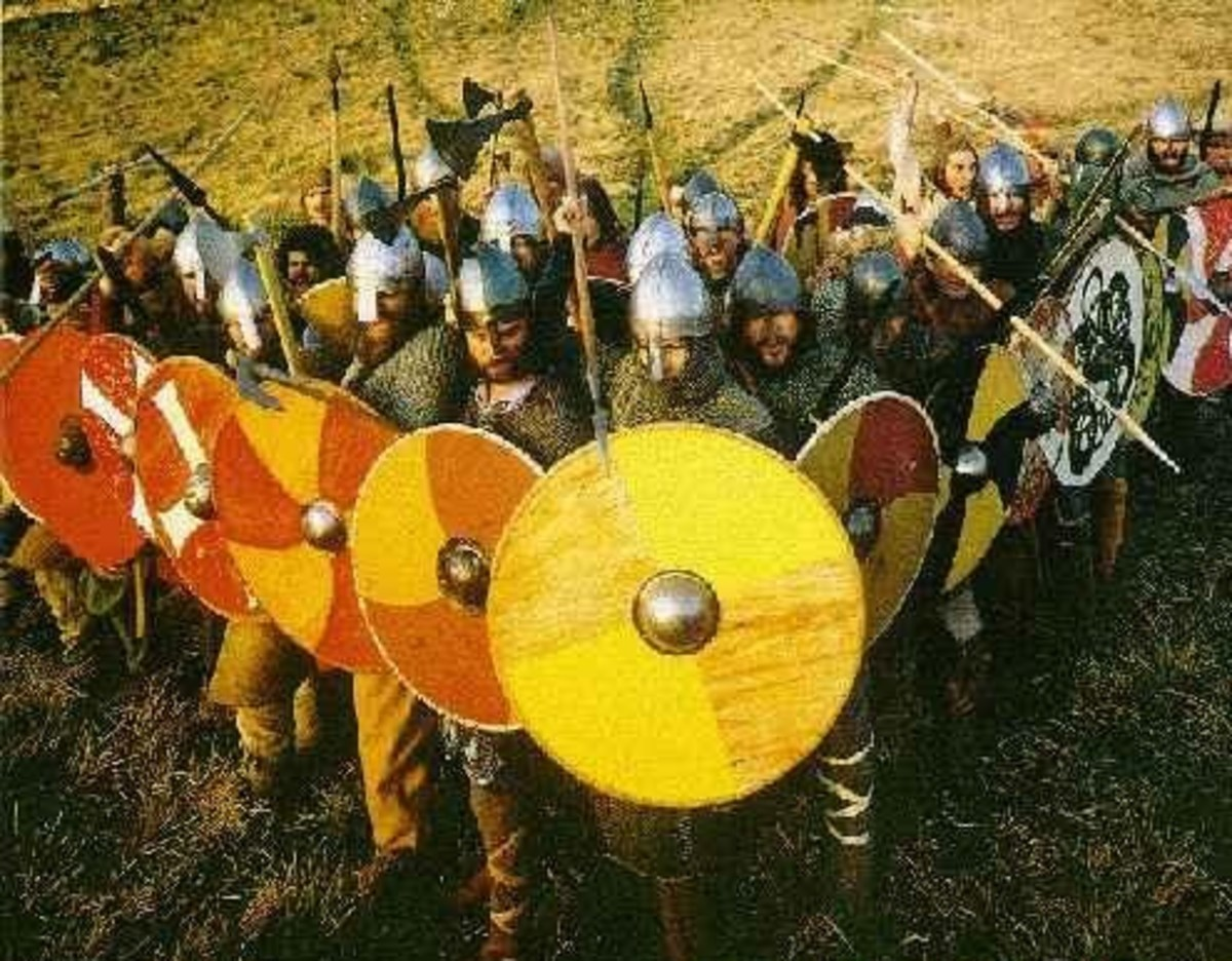 From the offensive: Saxon Wedge or Swine Array, an offensive formation adapted by Aelfred 'the Great' from the classic Greek
