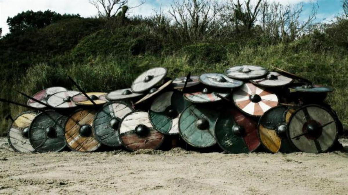 ...Onto the defensive: 'tortoise' or 'beetle', the shield-wall can be adapted for...