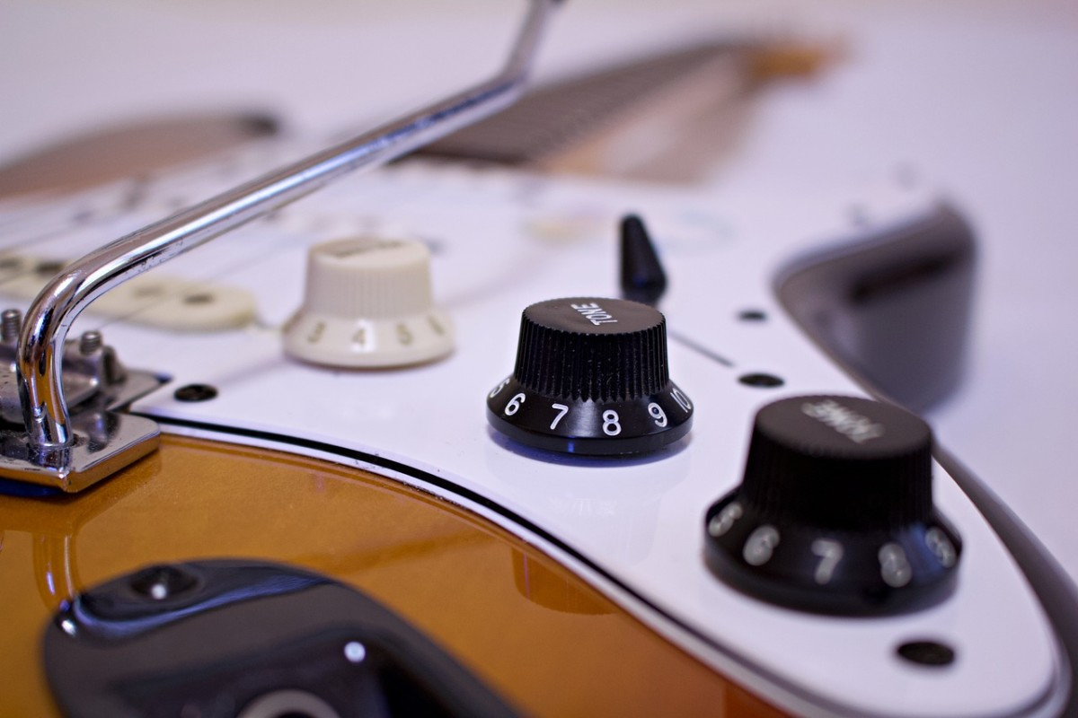 Up close and personal with a Fender Stratocaster