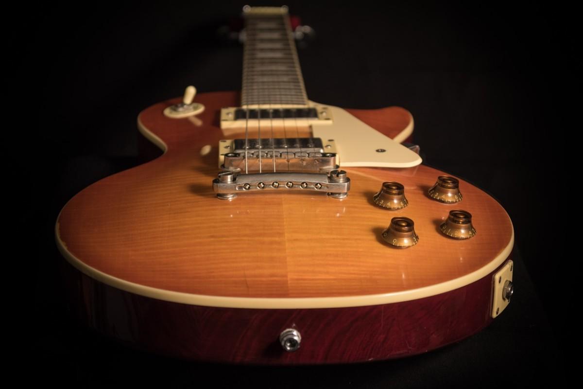 A Gibson Les Paul, a true American classic