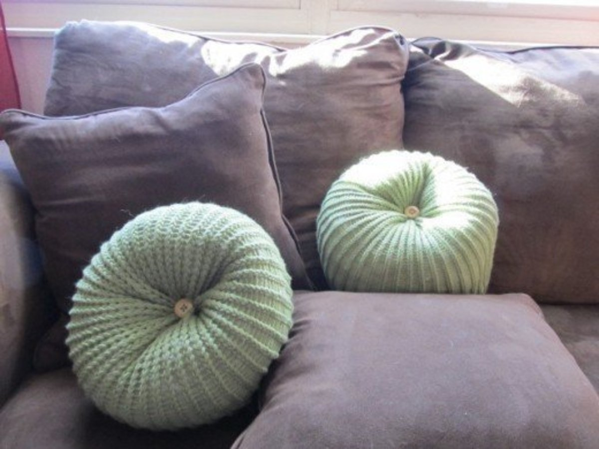 Pillow and Cushion Patterns for the Knifty Knitter Looms
