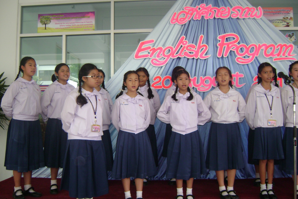 My Thai Students in 2011
