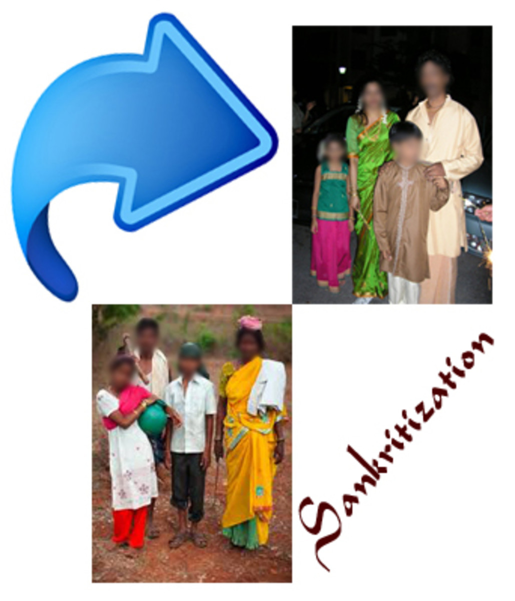 Sanskritization and Westernization