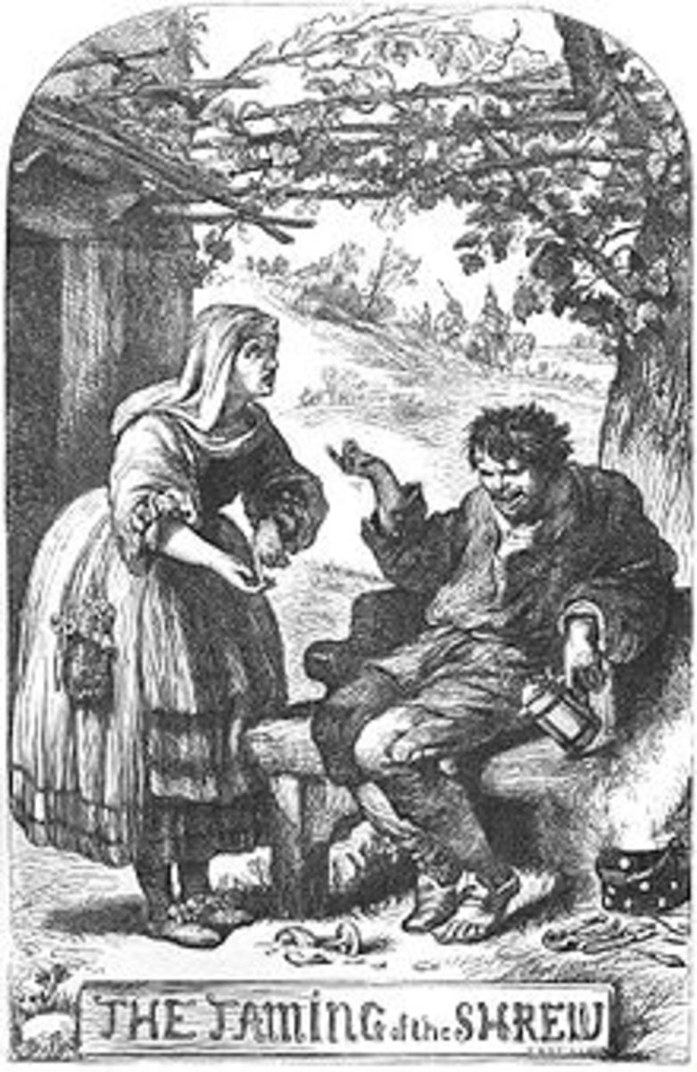 taming of the shrew coursework At the beginning / end of the play, katherina, the shrew is tamed she gives a long speech giving other women advice on how to treat their husbands page 2 of.