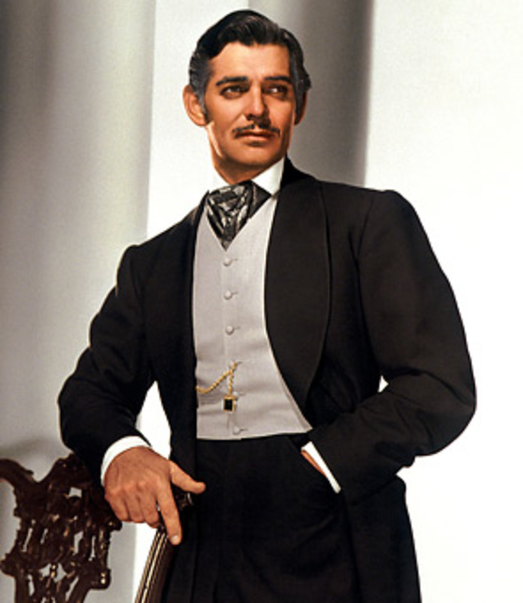 Clark Gable as the original Rhett
