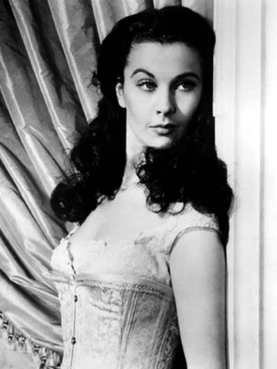Vivien Leigh, the original Scarlett