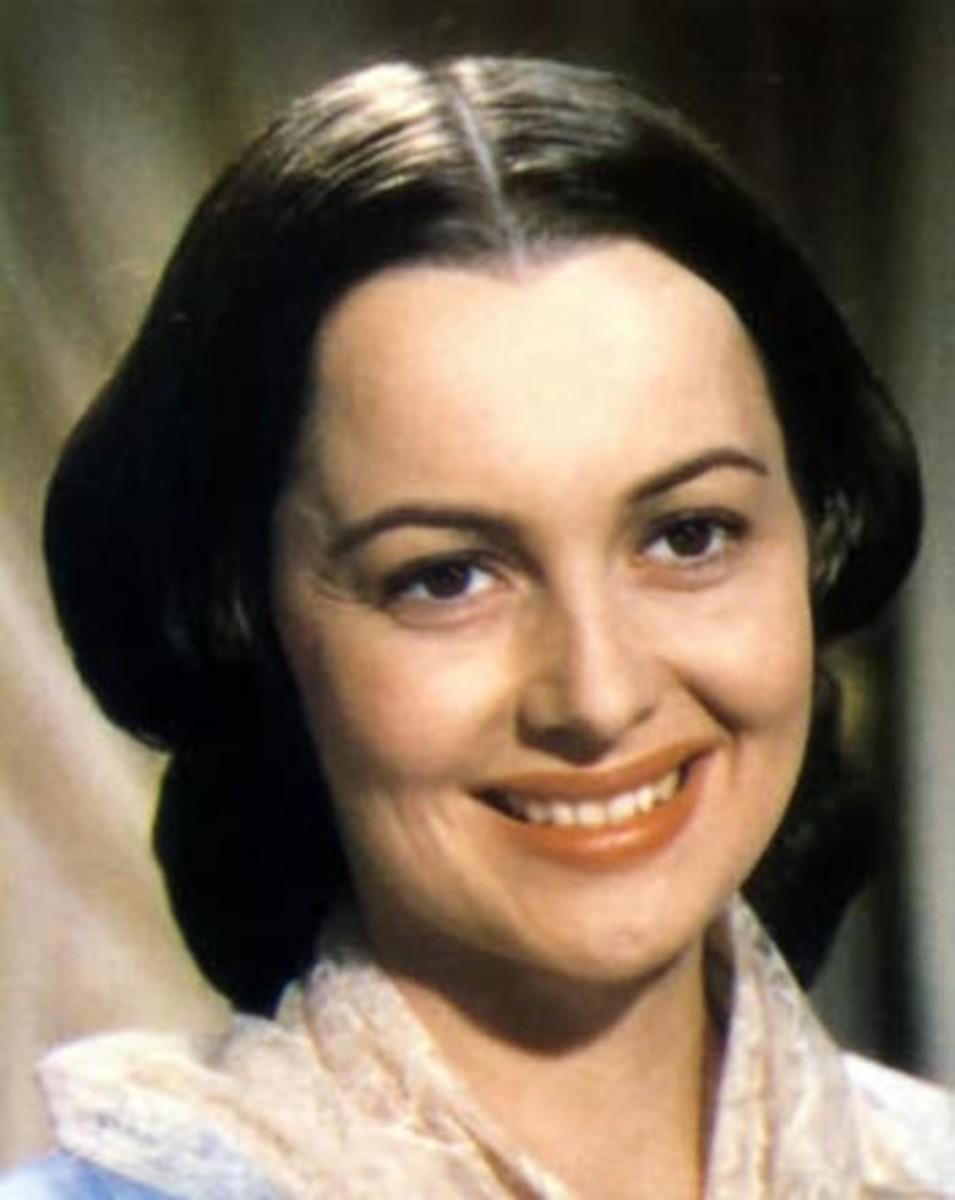 Melanie Hamilton-Wilkes as played by Olivia de Havilland.