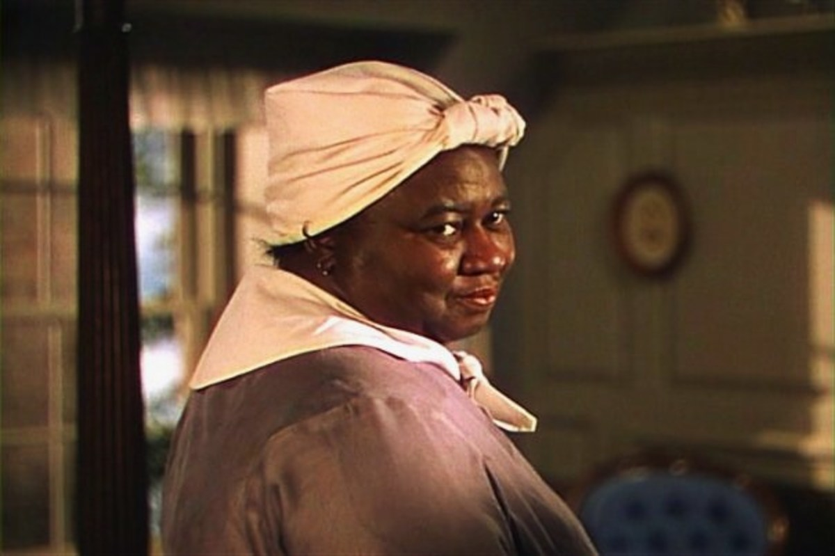 Mammy as played by Hattie McDaniel.