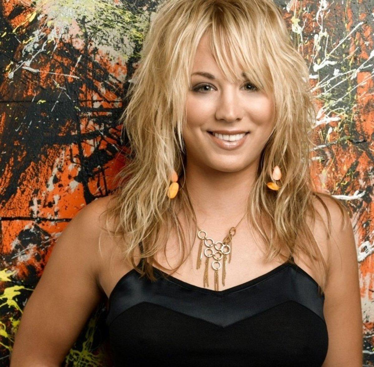 Penny of The Big Bang Theory, aka Kaley Cuoco