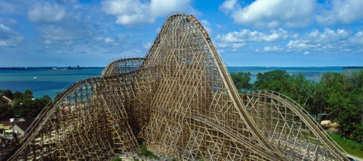 Roller Coaster at Cedar Point