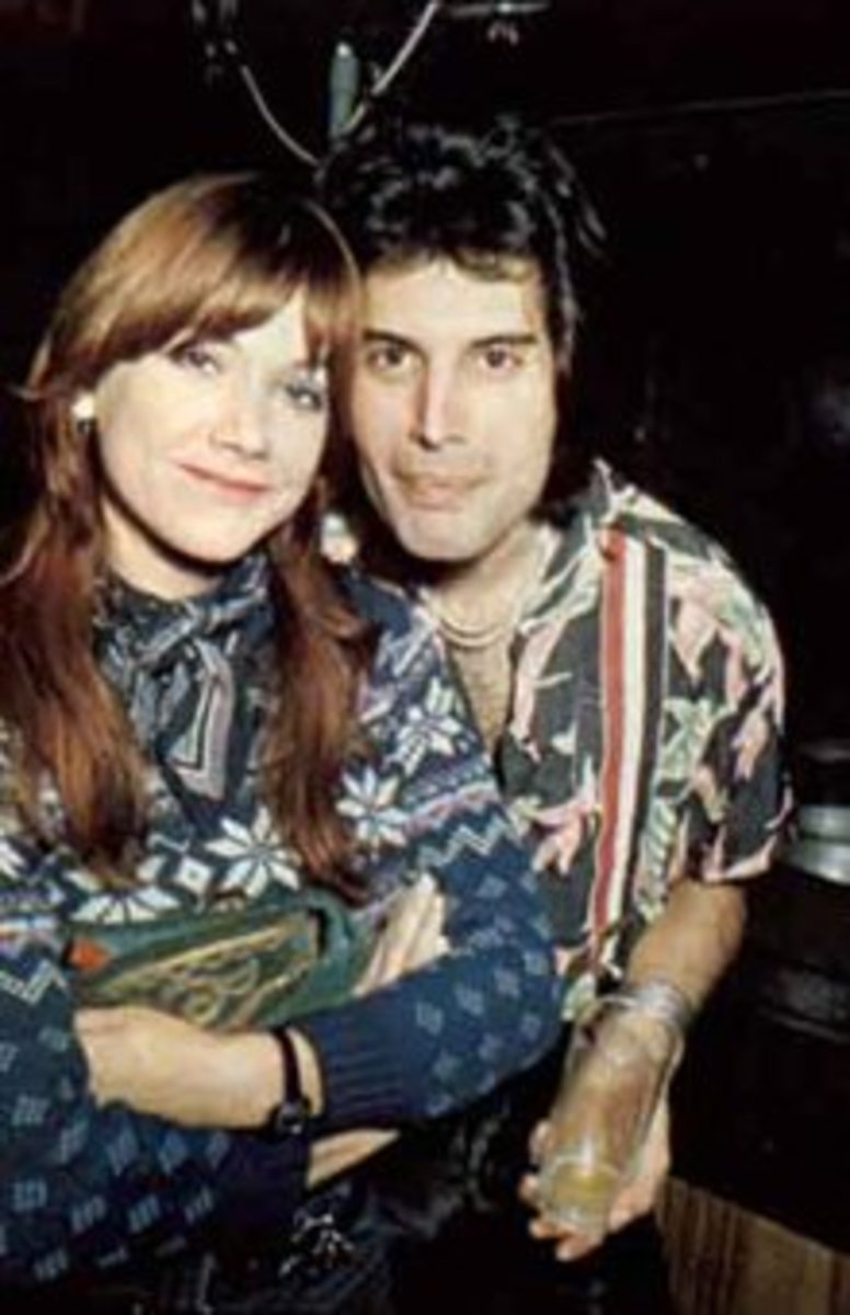 Freddie with Mary Austin