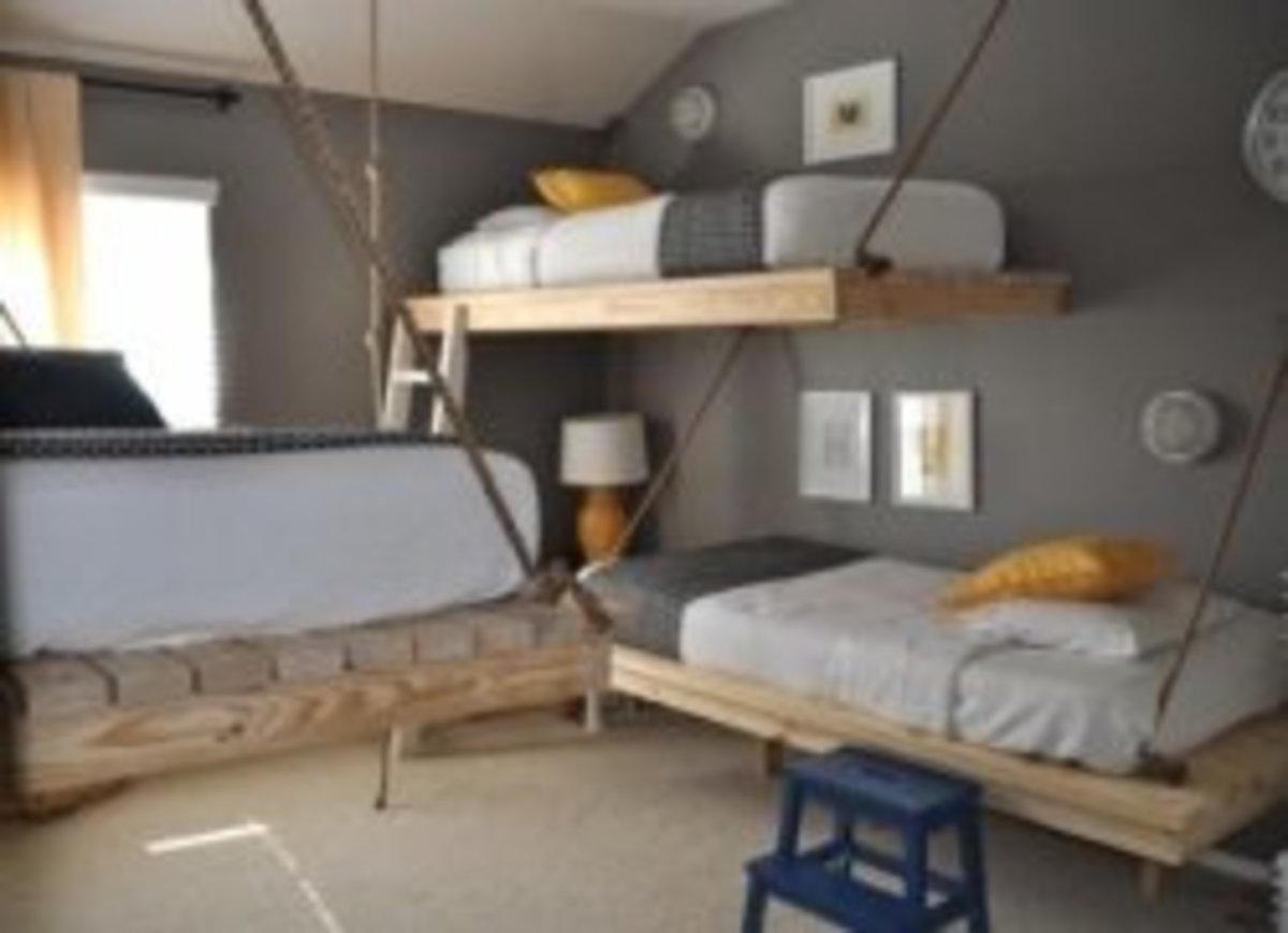 DIY Projects Hanging Bed Good Tutorials