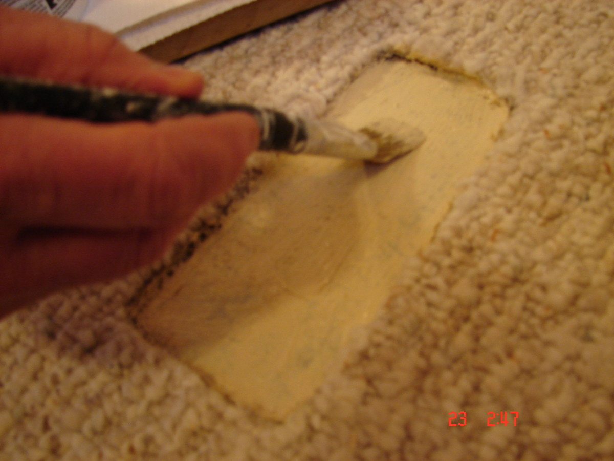 How To Repair Carpet Holes And Tears