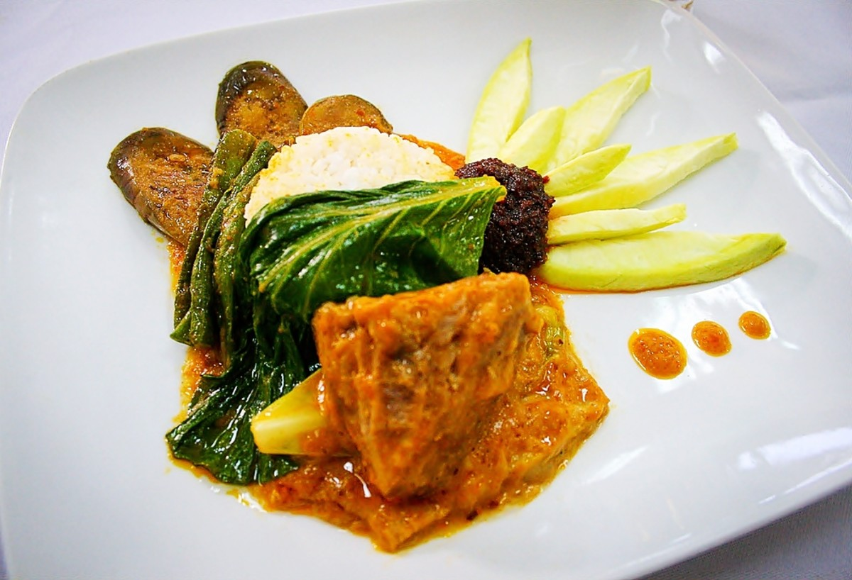 Kare Kare with Bagoong or Shrimp Paste