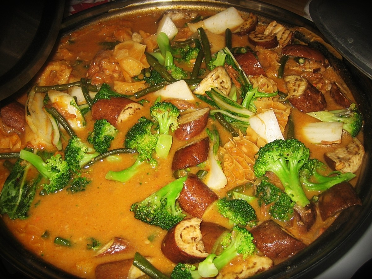 Kare Kare with Broccoli