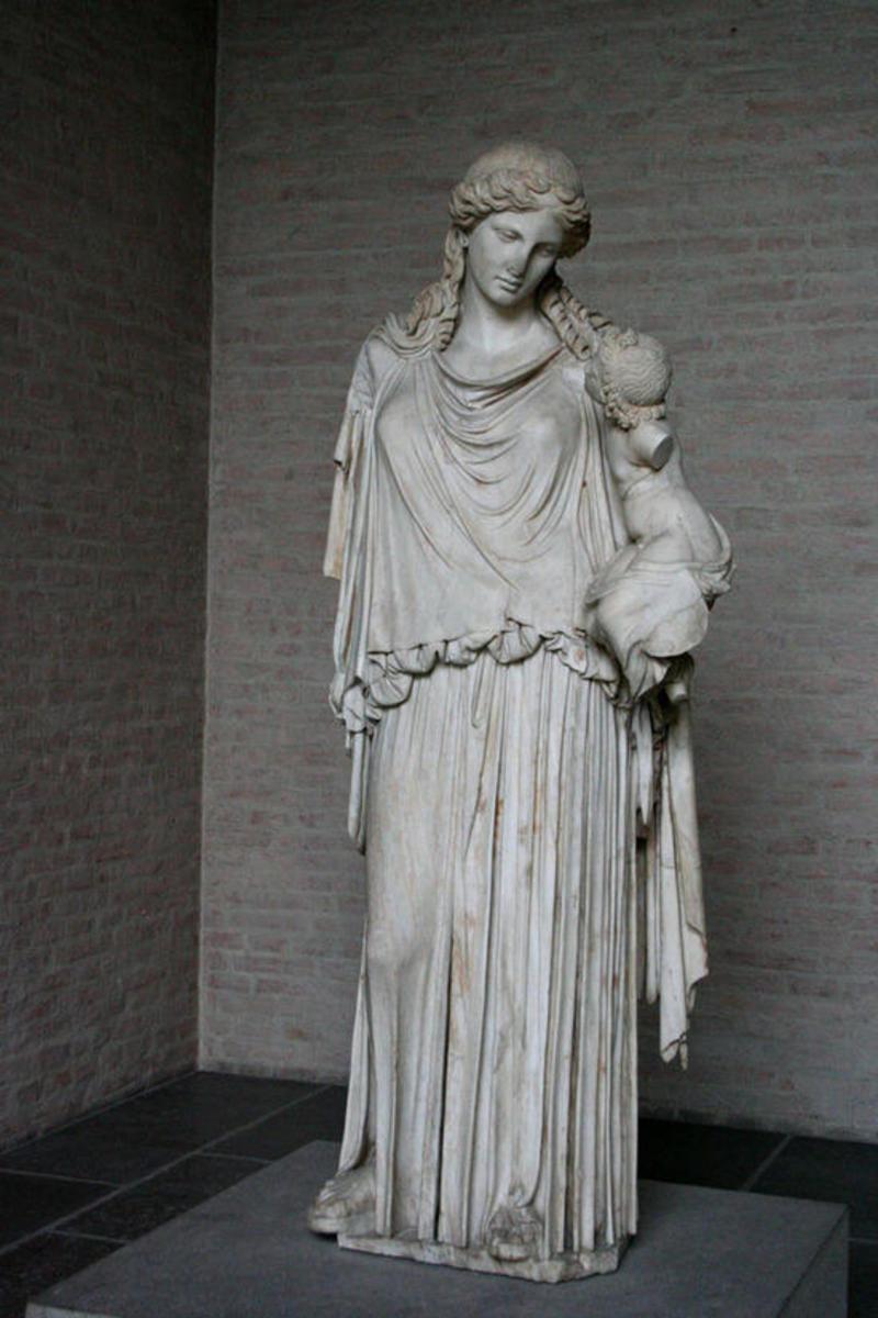 A Statue of Hestia