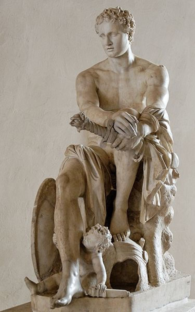 A Marble Statue of Ares