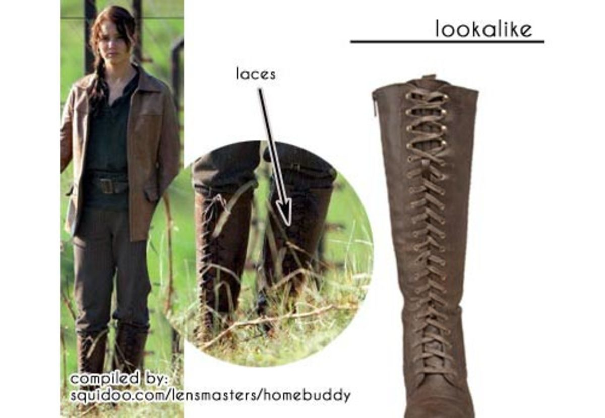 Katniss' Hunting Boots at District 12
