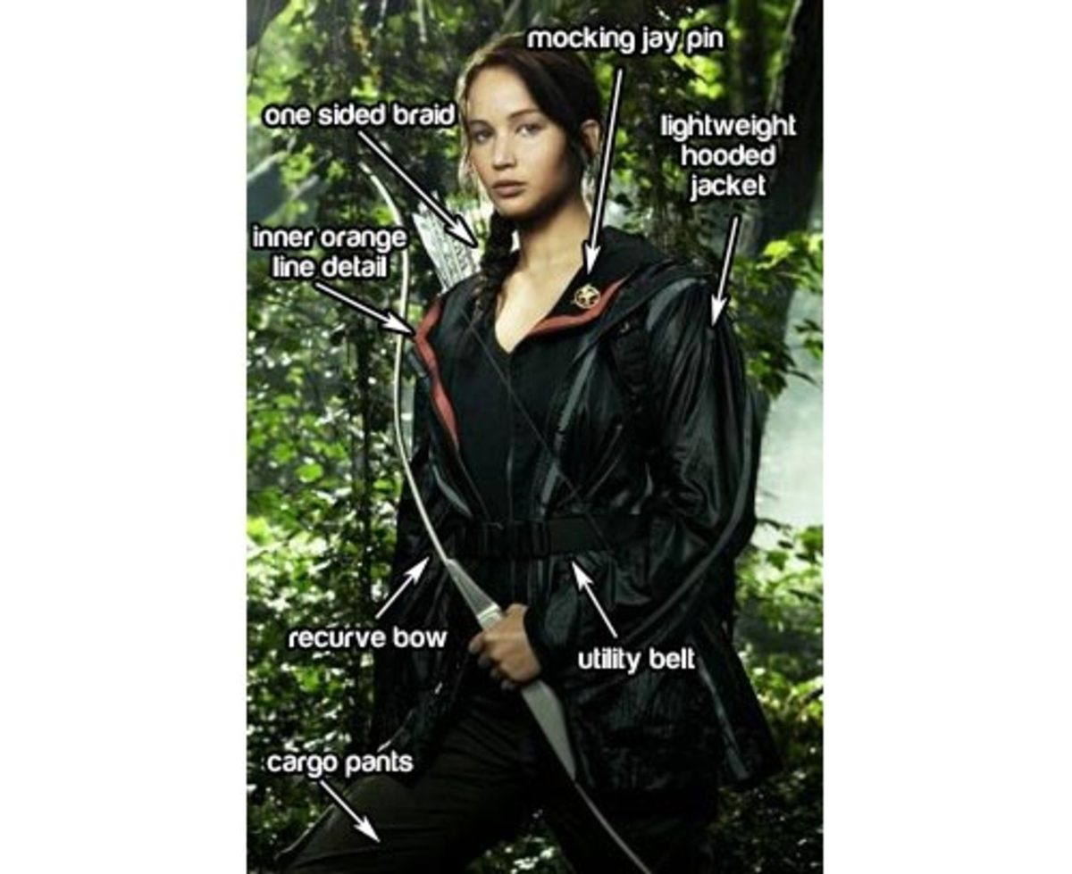 Katniss Everdeen's Arena Outfit