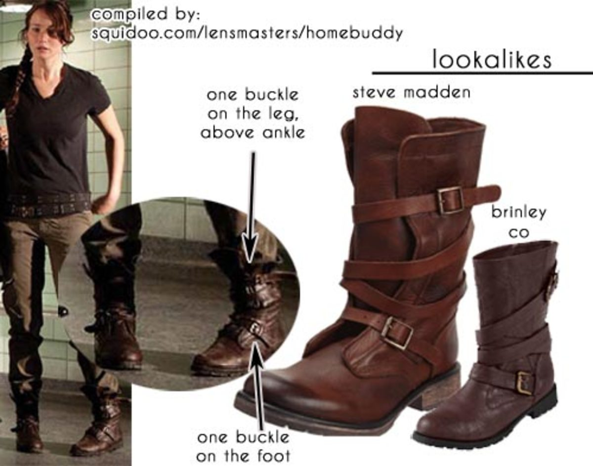 Katniss' boots from the Hunger Games Arena