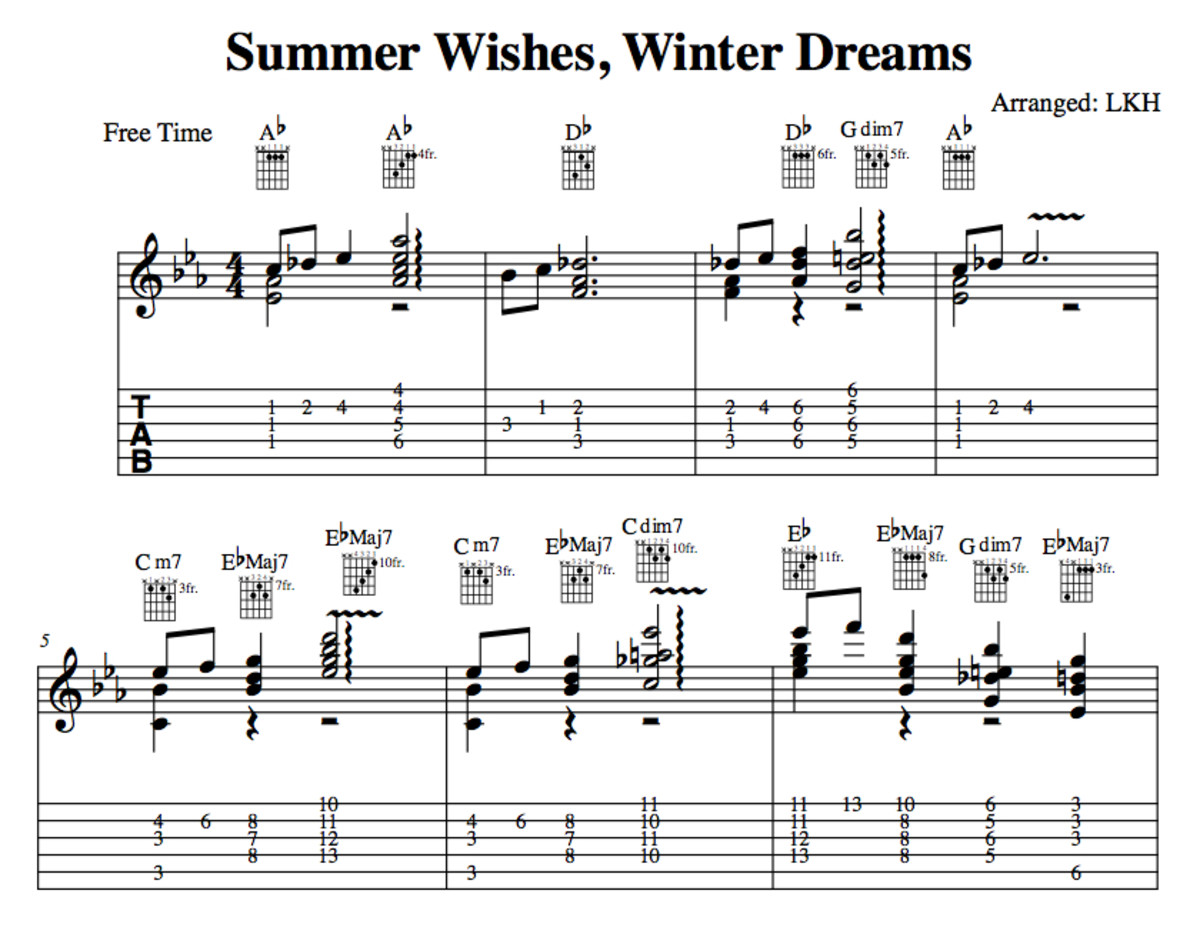 Jazz Guitar Lessons • Summer Wishes, Winter Dreams • George Benson ...