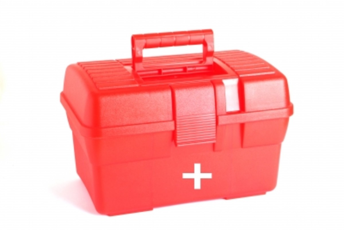 Make sure that all employees know where to locate the first aid box!
