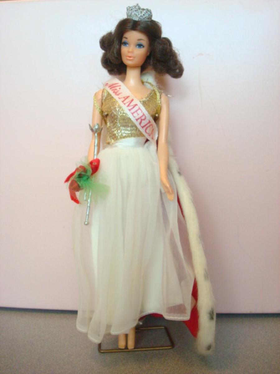 Steffie as Miss America