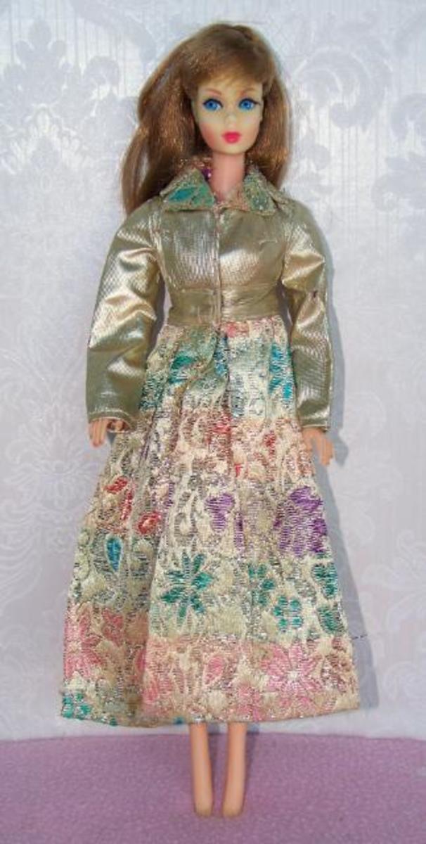 Barbie in Silver Blues