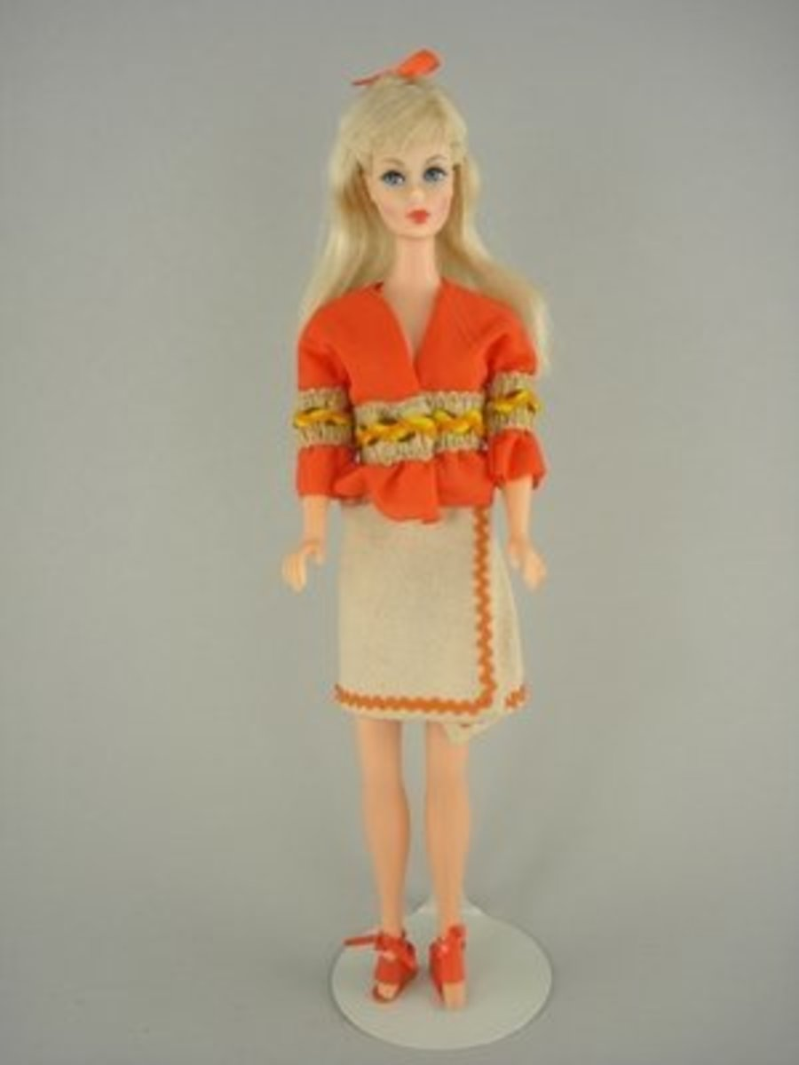 Barbie Doll S Fashionable Look For 1972 Hubpages