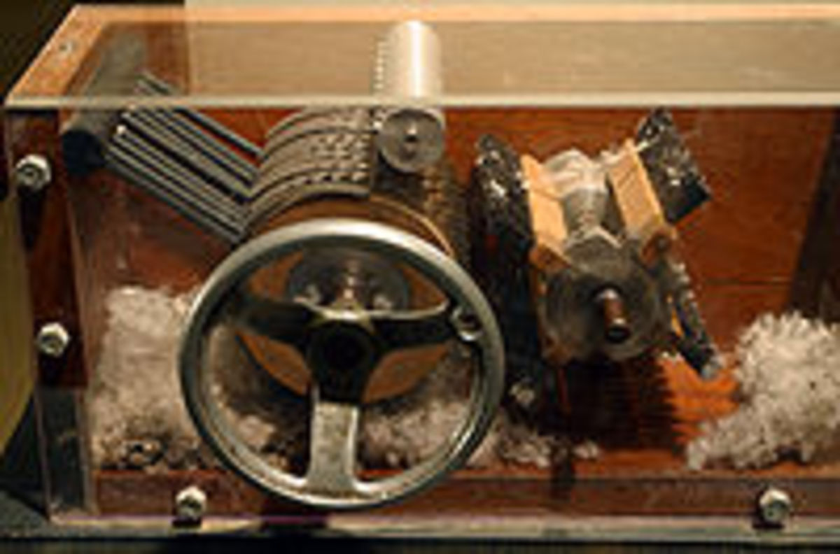 Eli Whitney could not have predicted the effect his invention would have on the world.