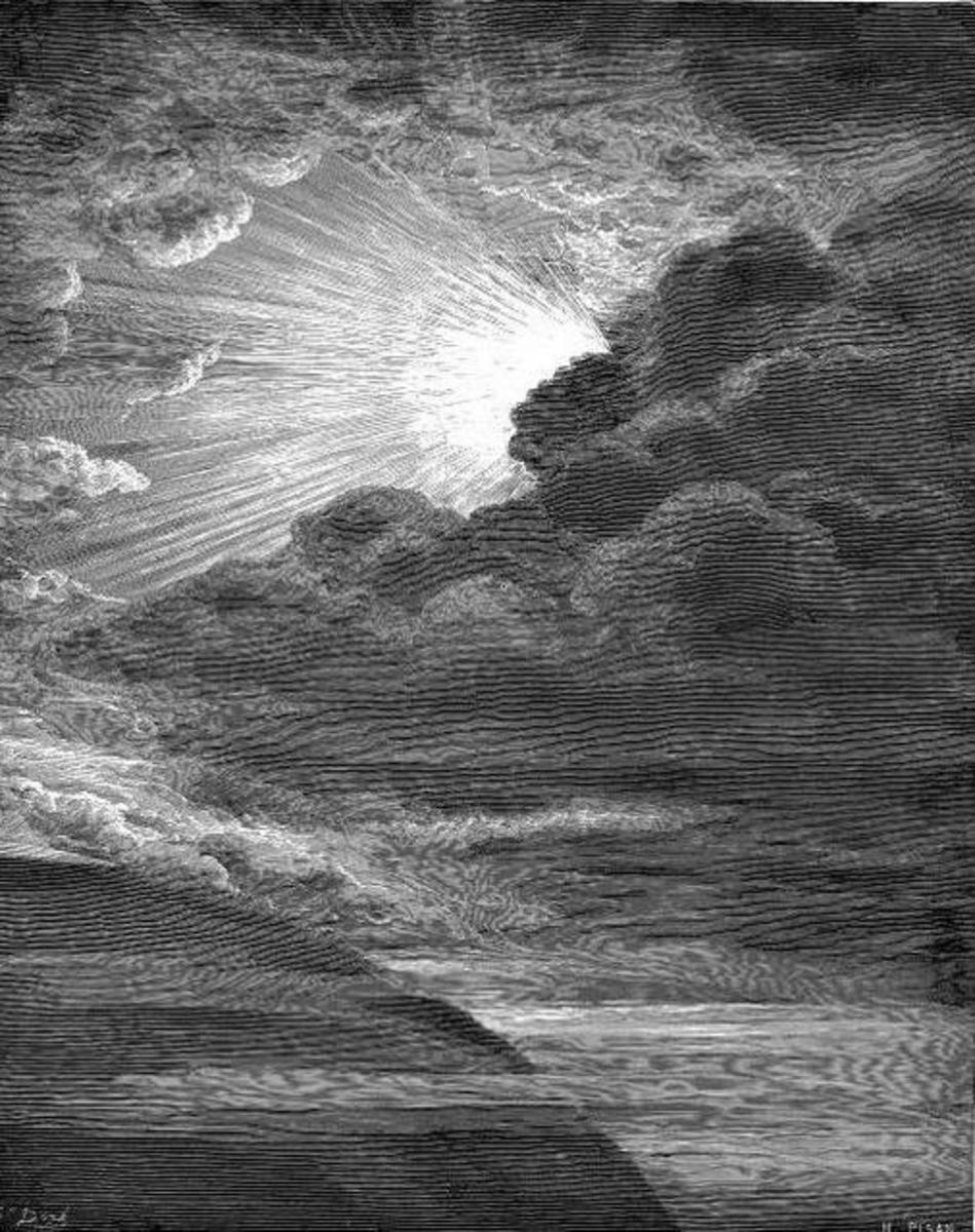 The Creation of light, Gustave Doré (1832-1883)