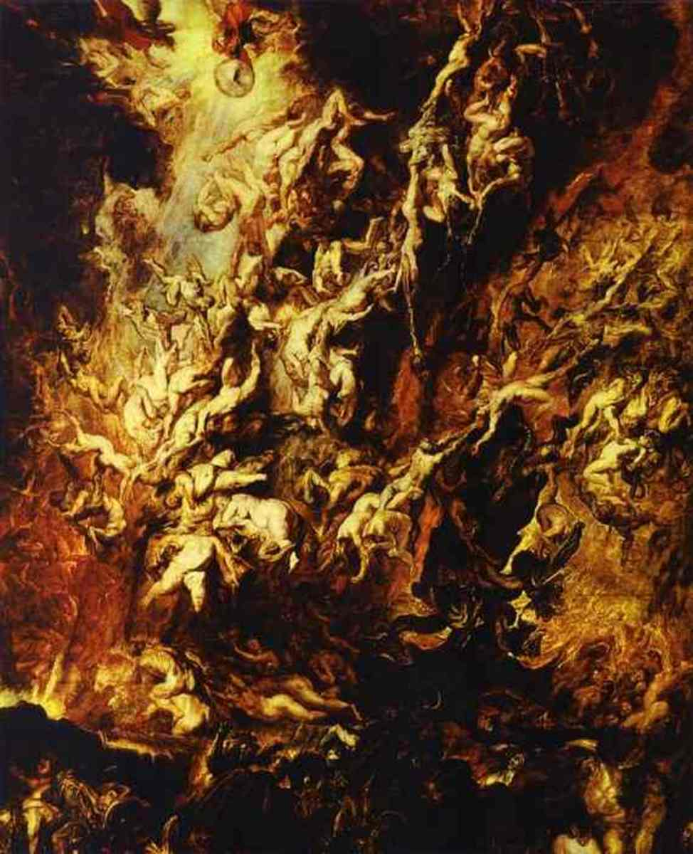 The Fall of the Rebel Angels, Peter Paul Rubens (1577-1640)