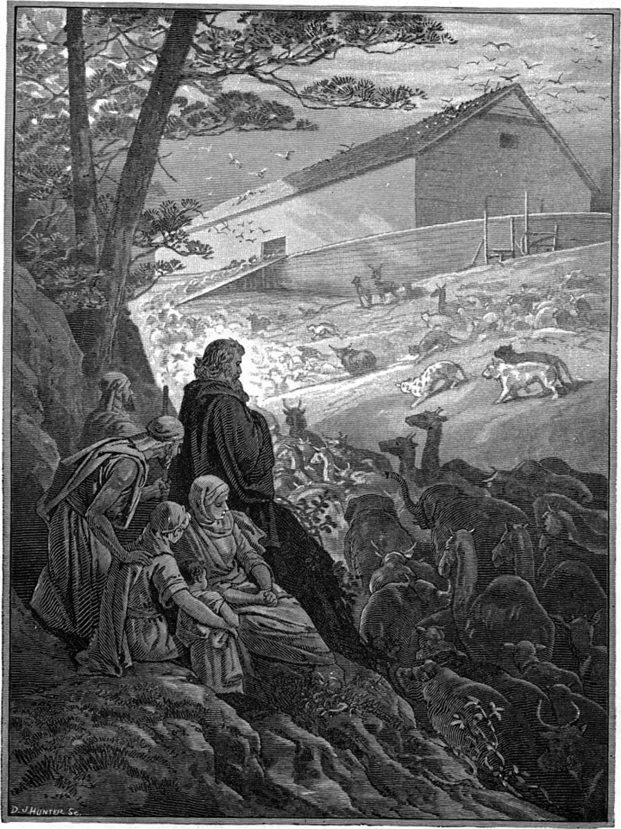 Noah's Ark,  Charles Foster Picture Gallery