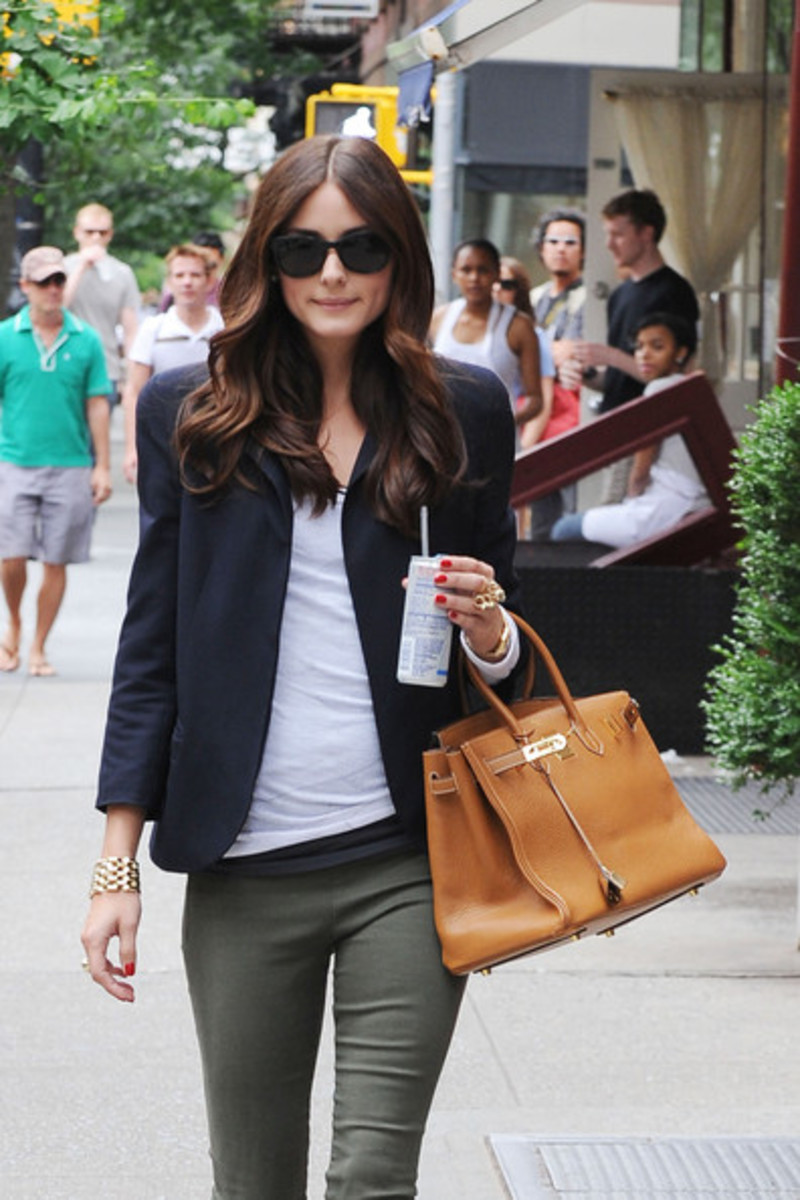 Celebrities famous people with their hermes birkin bag for Hermes palermo