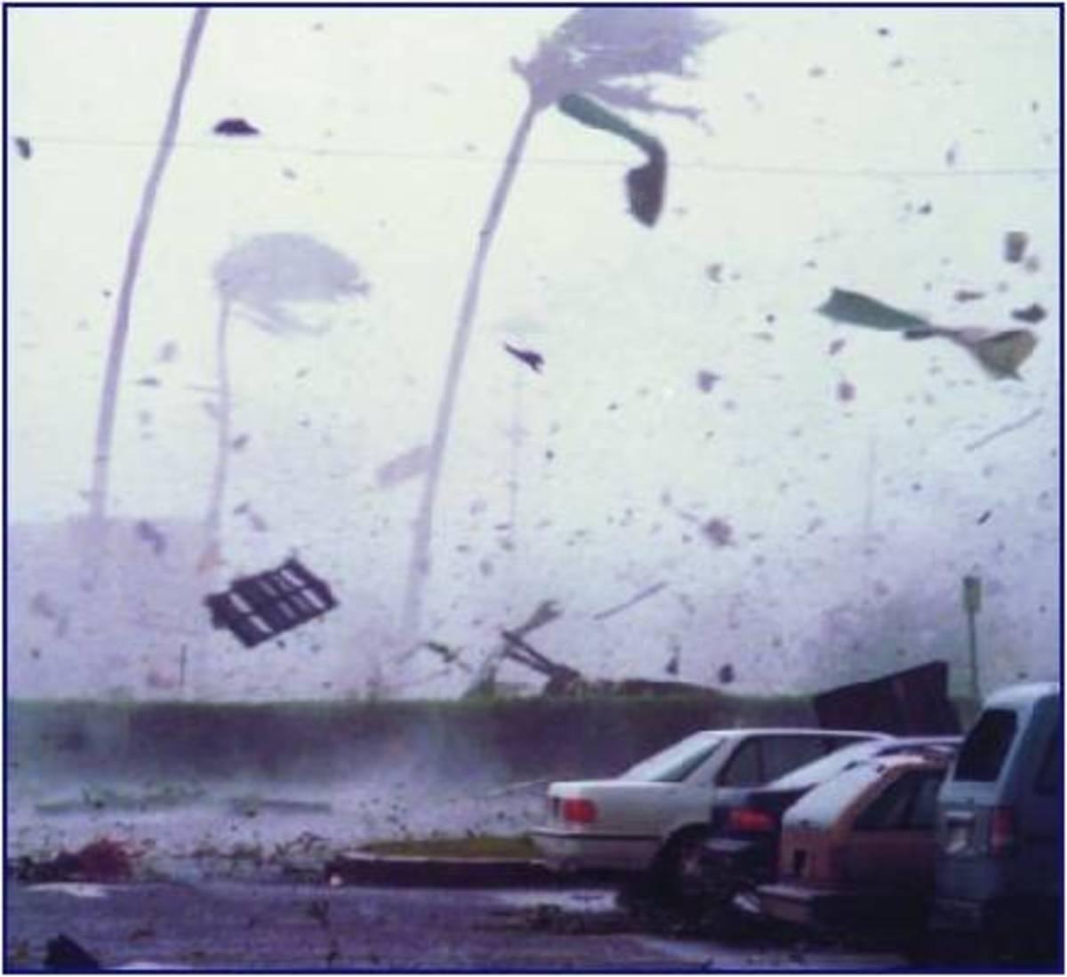 Hurricane Iniki- Kauai, Hawaii Sept. 11, 1992