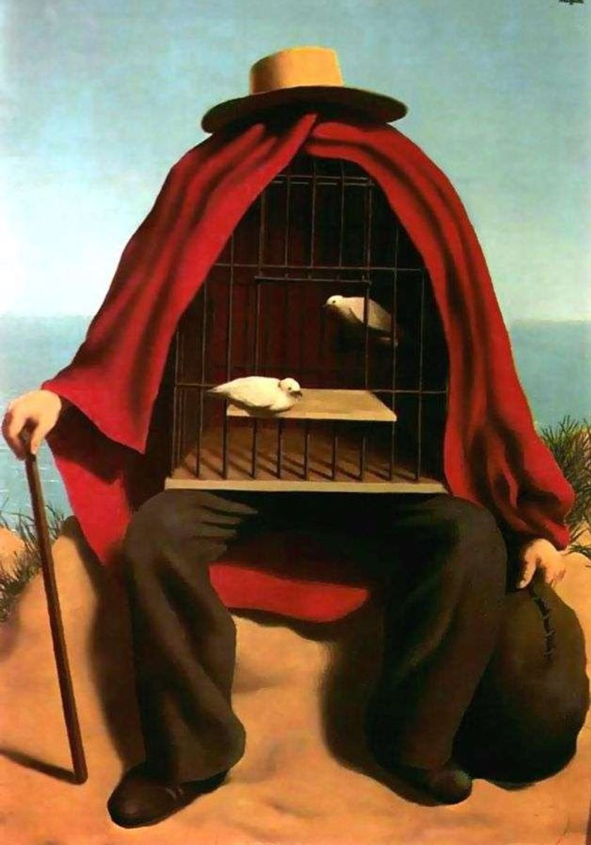 """""""THE THERAPIST"""" BY RENE MAGRITTE (1941)"""