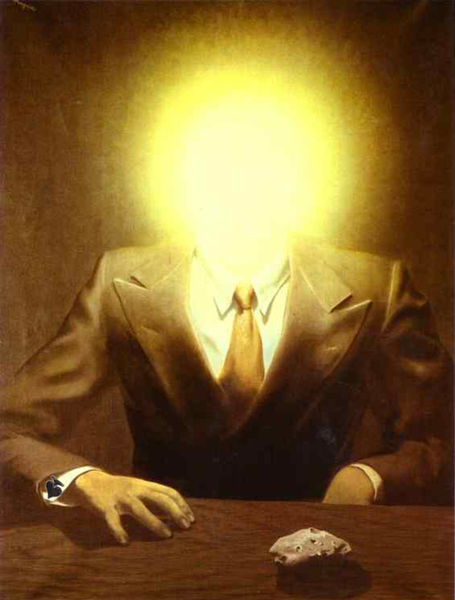 """THE PLEASURE PRINCIPLE"" BY RENE MAGRITTE (1937)"