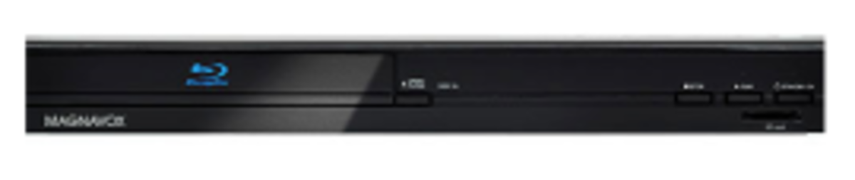 Multiple firmware updates are available for the Magnavox NB500MG1F Blu-ray player.