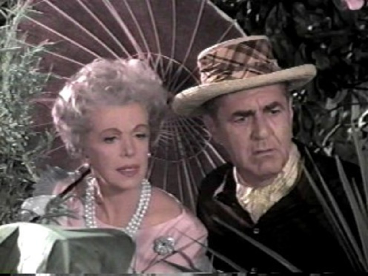 Mr. and Mrs. Howell (Jim Backus and Natalie Schafer)