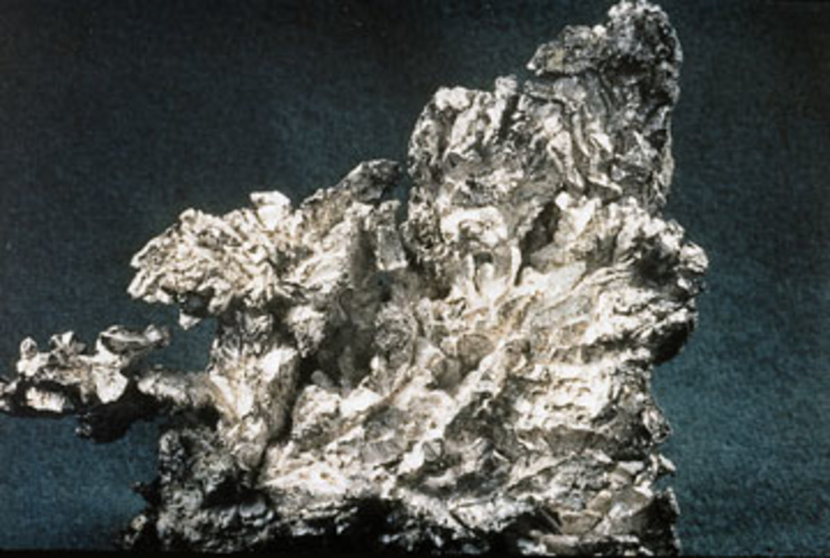 silver in natural form