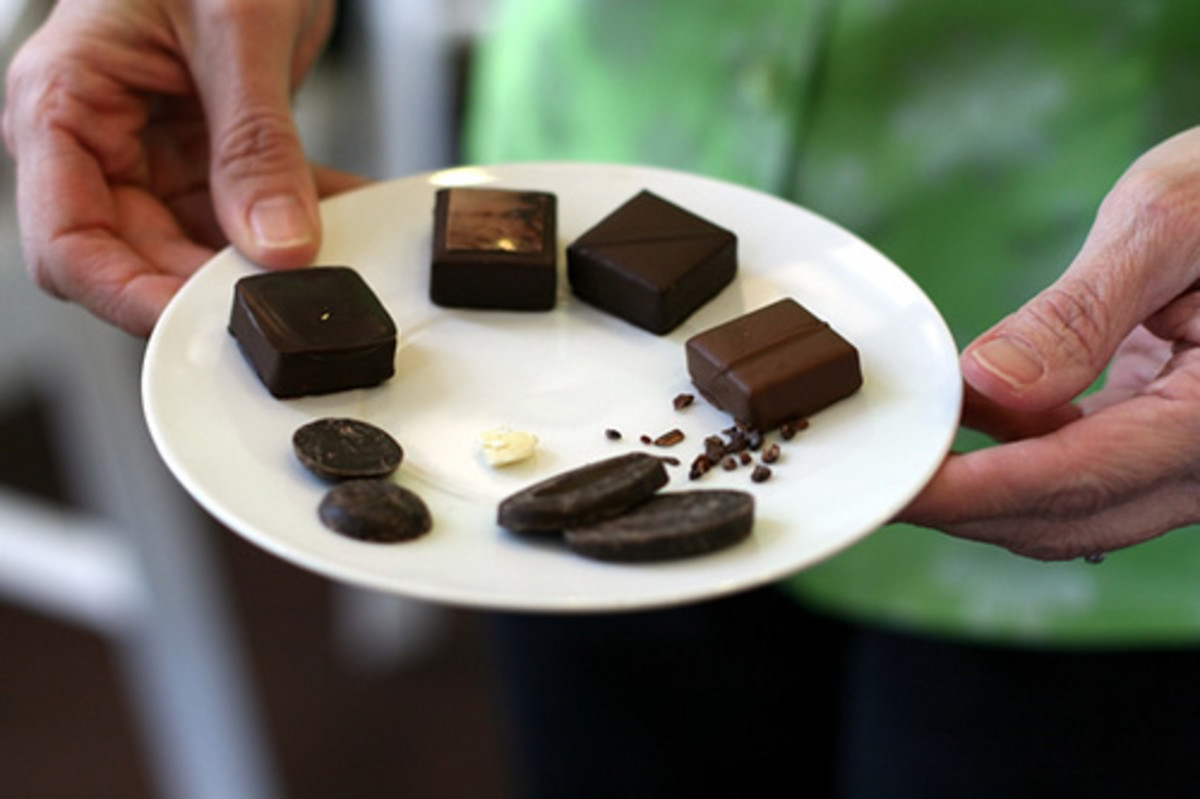 How to host a chocolate tasting.