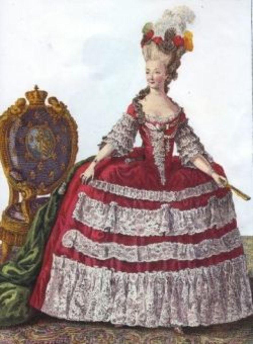 Marie Antoinette Paper Dolls Page