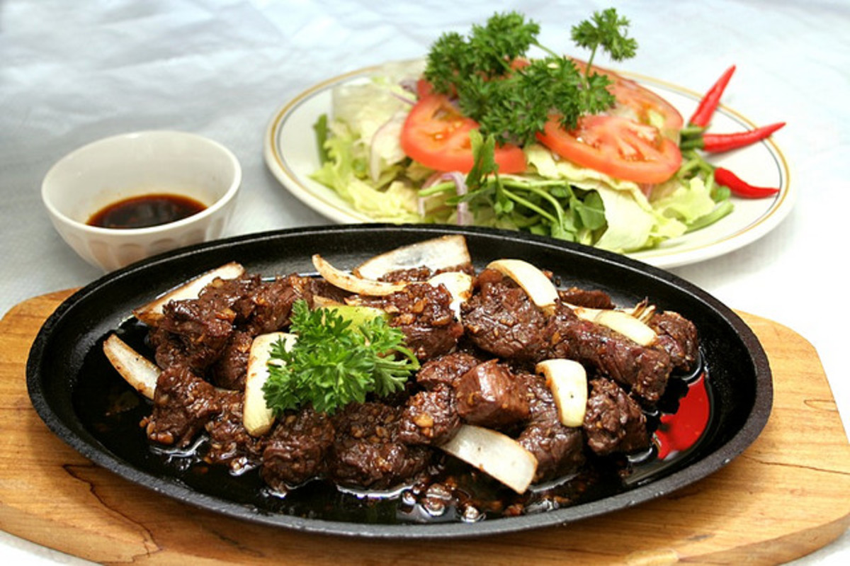 Bo Luc Lac (Vietnamese Shaking Beef Steak)