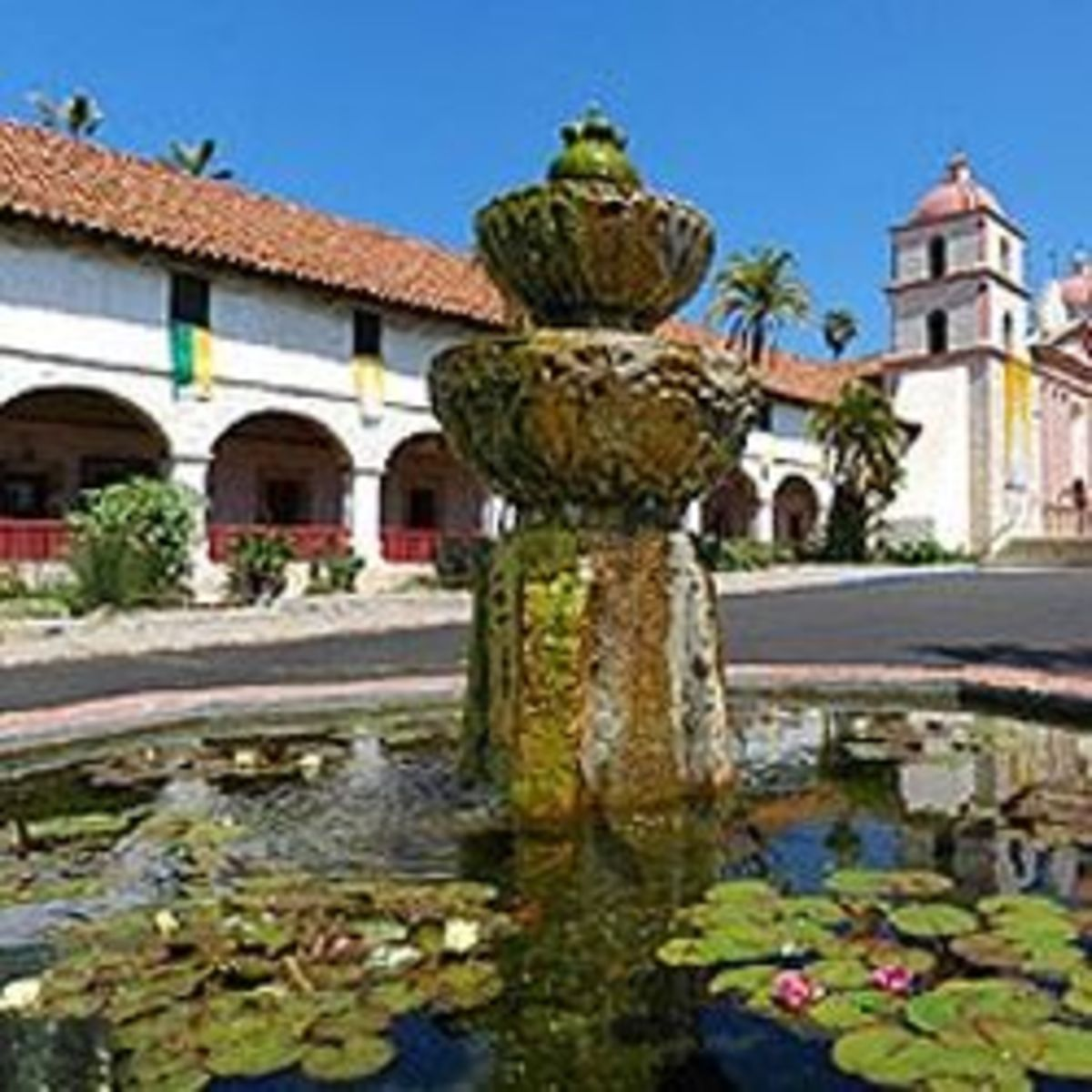 Go To Santa Barbara Mission Page