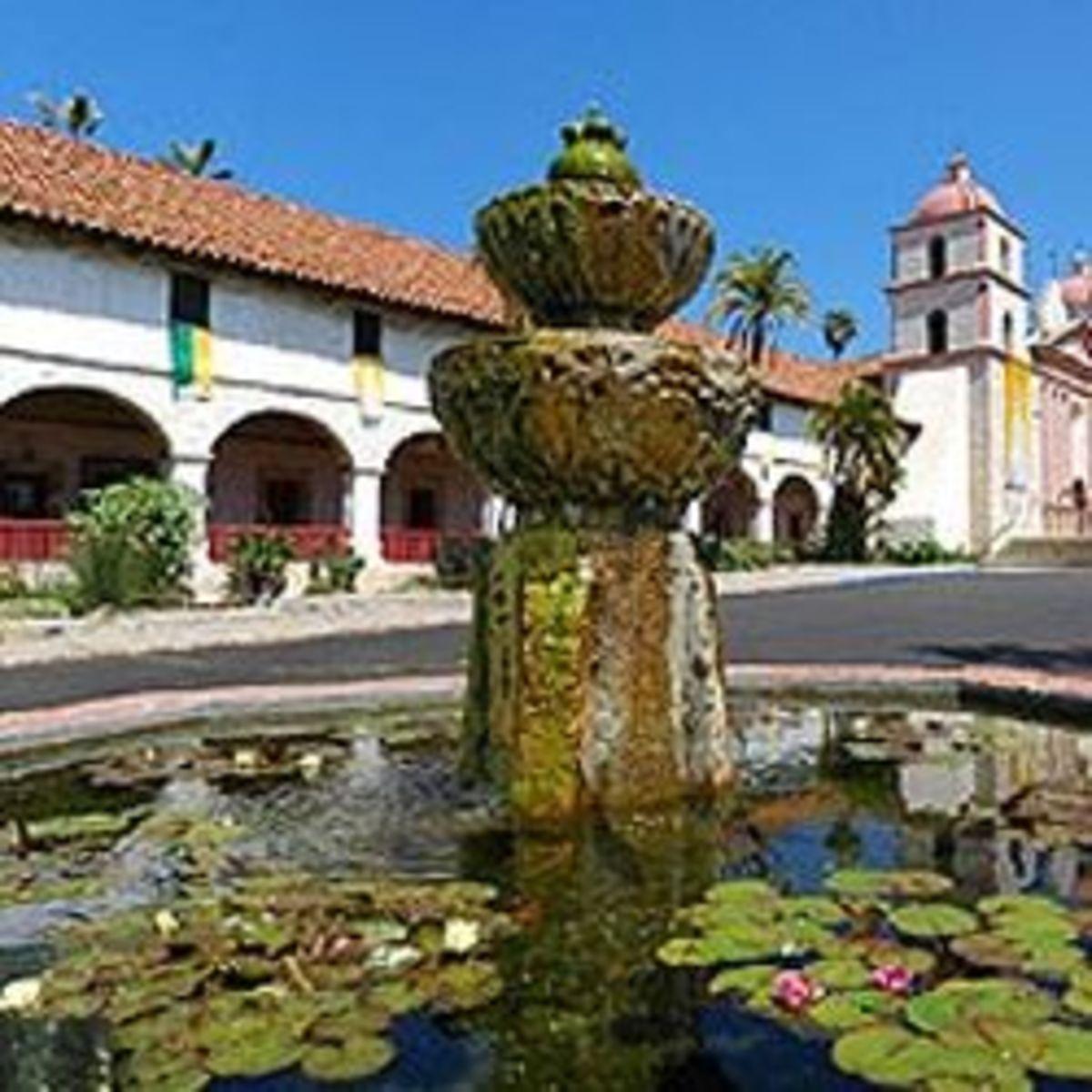 Go To Santa Barbara Mission Page