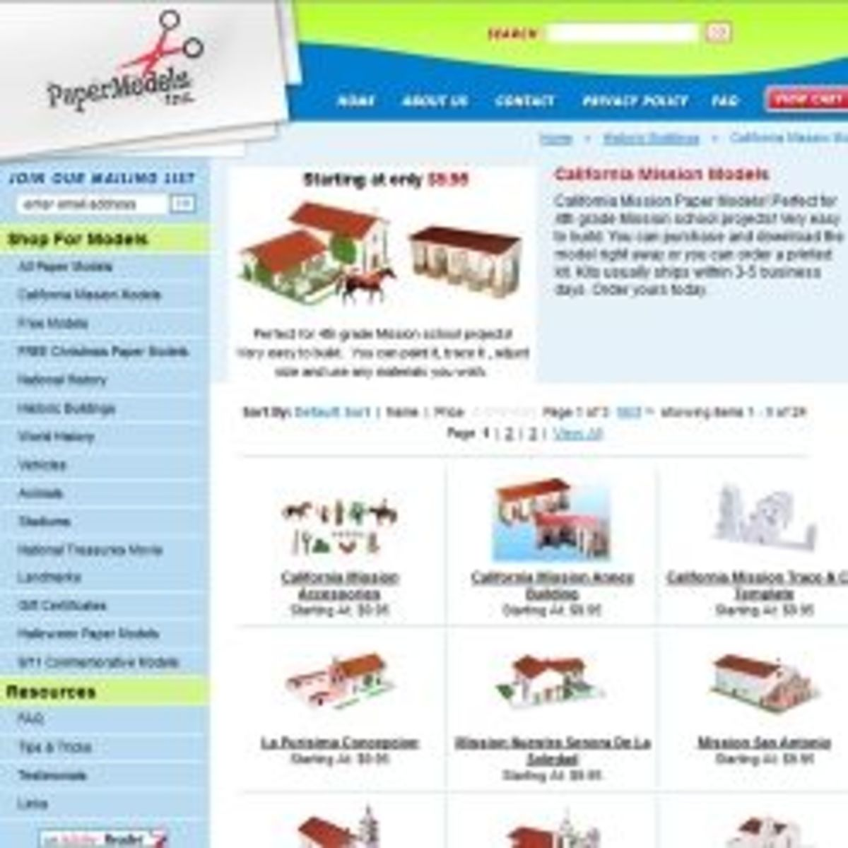 Go To PaperModels.com