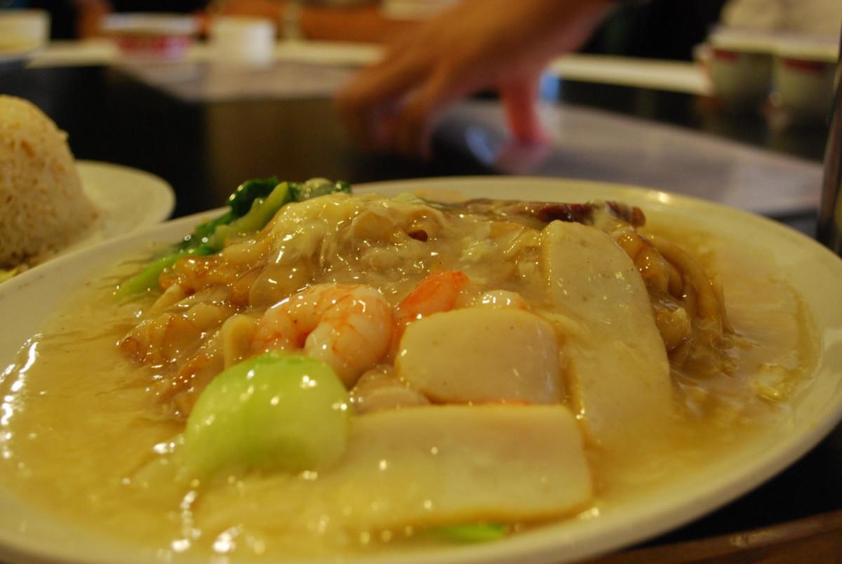 Chow Hor Fun (Malaysian chicken chow fun)