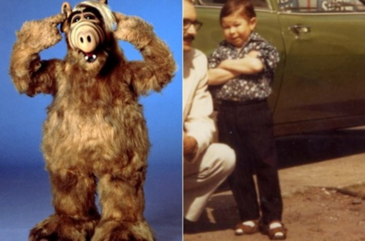 """Hungarian actor, Mihaly """"Michu"""" Meszaros actually played an alien as the body double in """"ALF"""""""