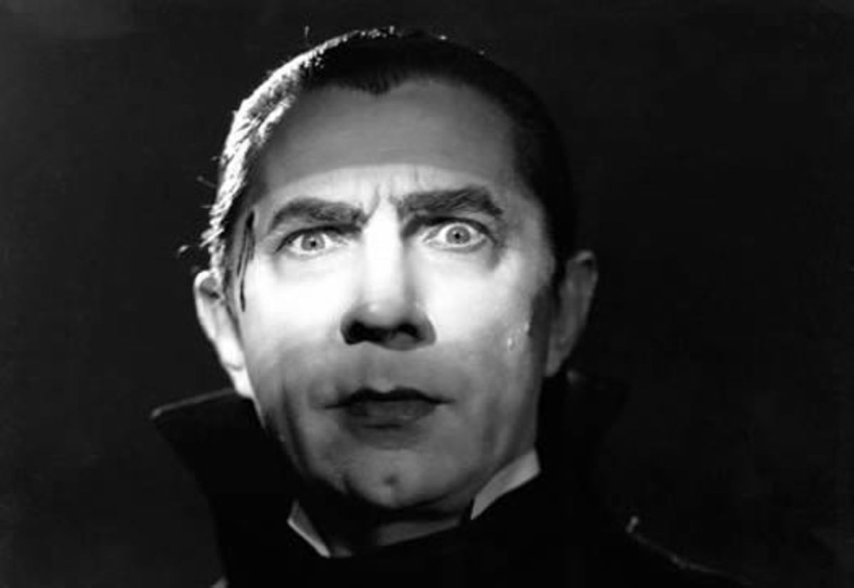 Hungarian actor Bela Lugosi.