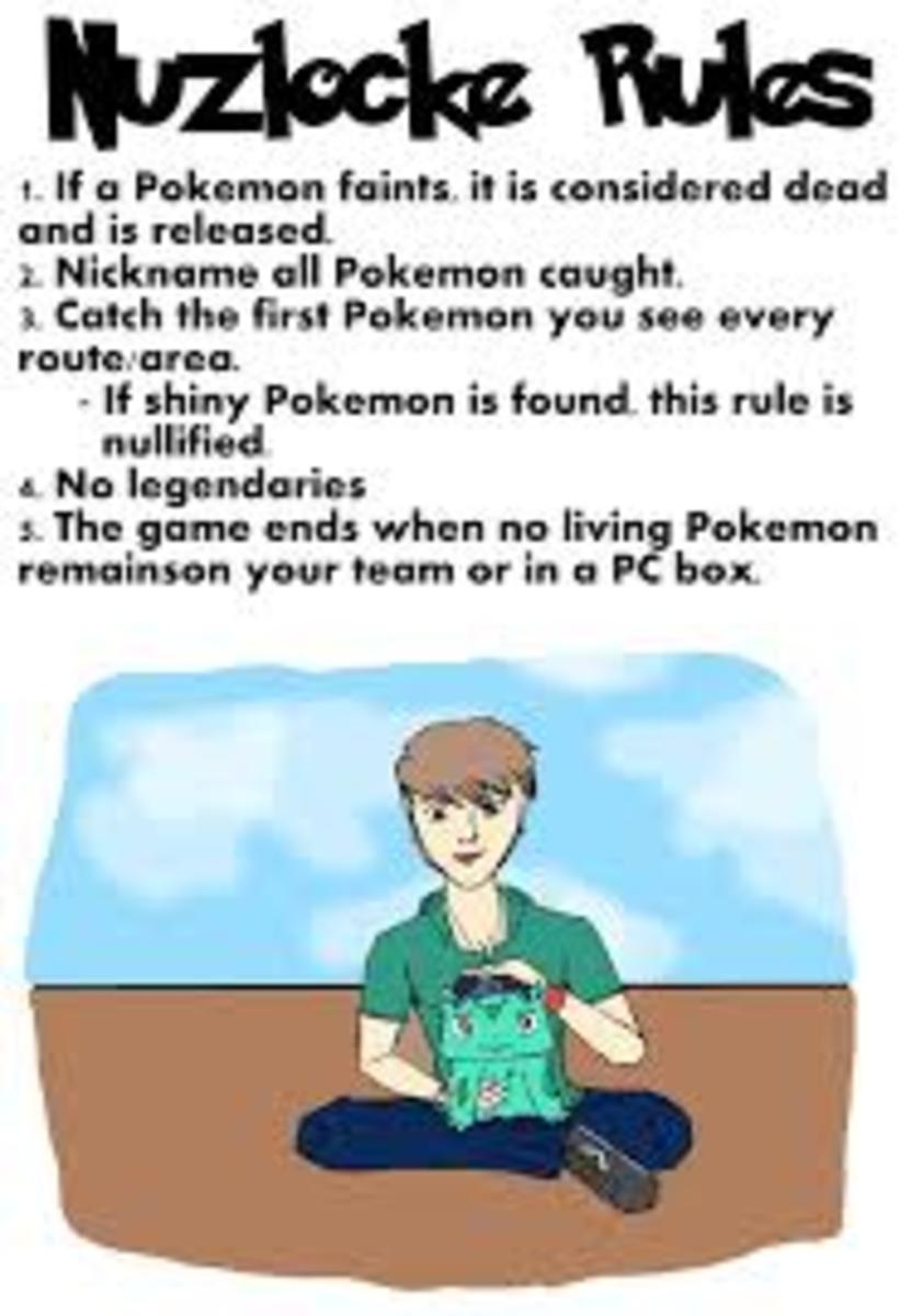 There are many versions of these rules floating around, some for specific games.